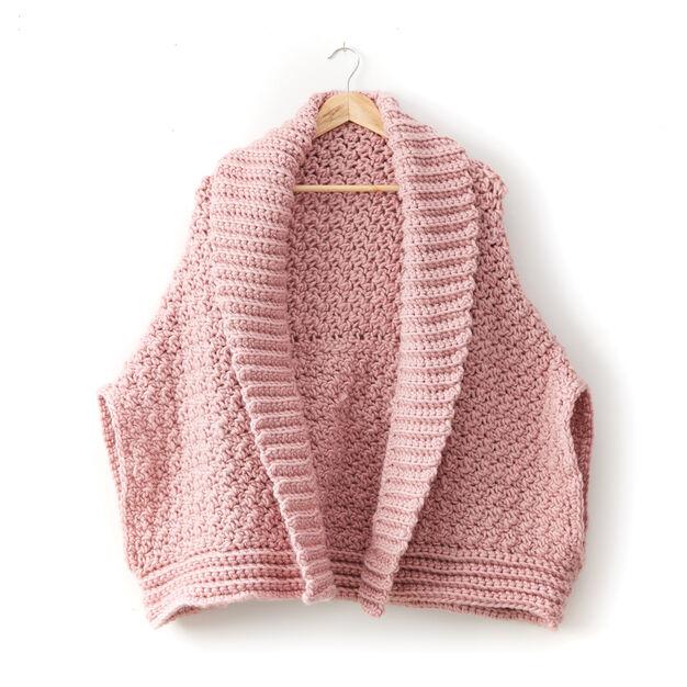 75b74ca8f913 Bernat Origami Crochet Cardigan