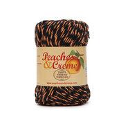 Peaches & Creme Twists Yarn, Black with Orange - Clearance Shades*