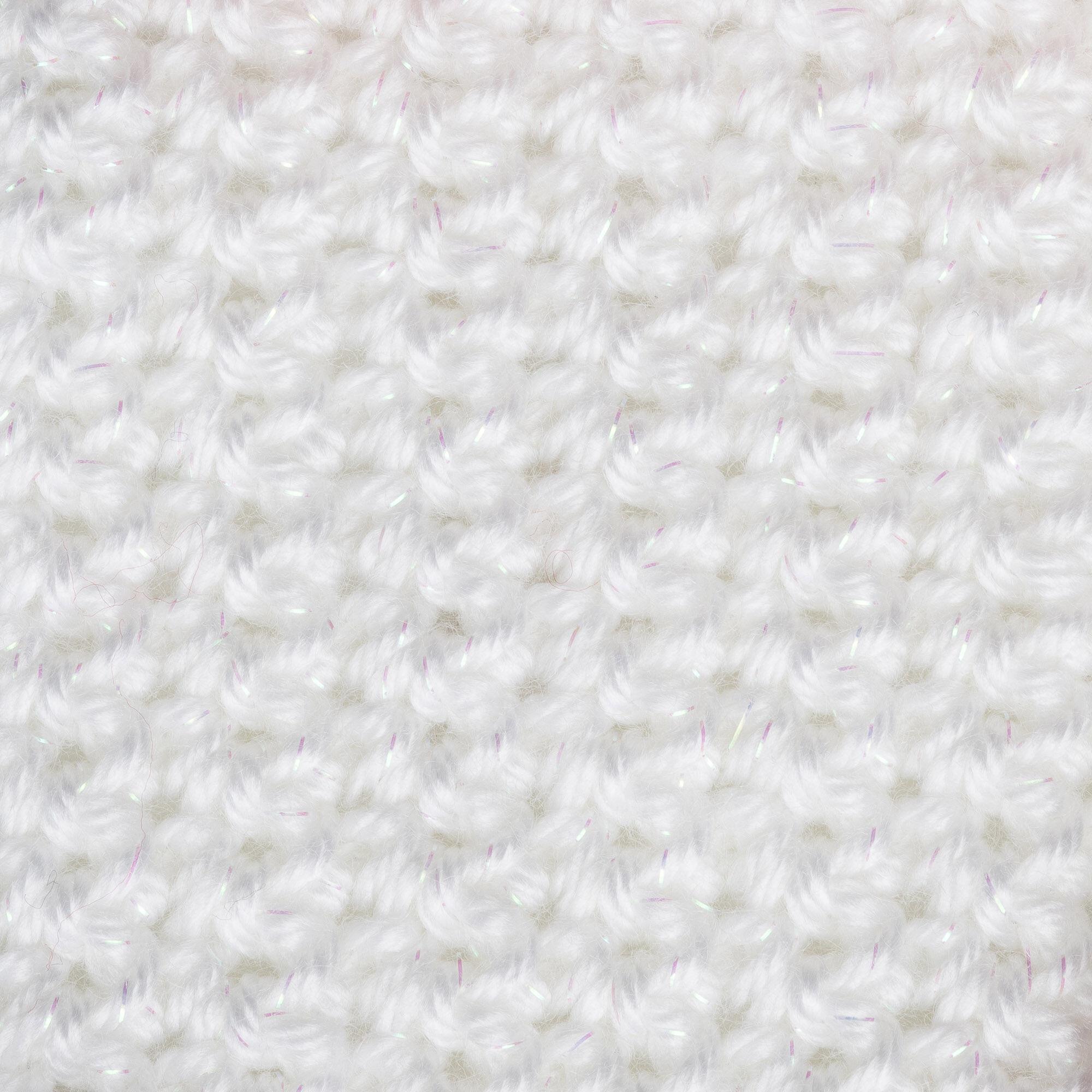 Caron Simply Soft Party Yarn Snow Sparkle Yarnspirations