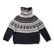 Go to Product: Patons Nomad Fair Isle Knit Pullover, M/L in color
