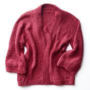 Patons Soft Drape Kimono Crochet Jacket, XS/S