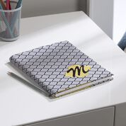 Go to Product: Coats & Clark Monogrammed Notebook Cover in color