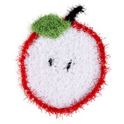 Go to Product: Red Heart Sliced Apple Scrubby in color