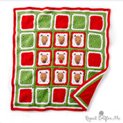 Go to Product: Bernat Crochet Christmas Reindeer Blanket in color