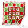 Bernat Crochet Christmas Reindeer Blanket in color  Thumbnail Main Image 1}