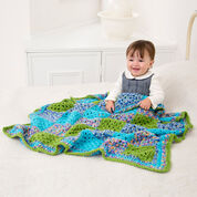 Go to Product: Red Heart Many Squares Baby Blanket in color