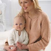Bernat Mom's Pullover, M