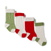 Red Heart Holiday Knit Stocking, Version 1
