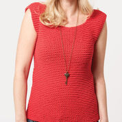 Go to Product: Bernat Garter Stitch Tank, XS/S in color