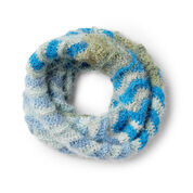 Go to Product: Caron Ripple Effect Crochet Cowl in color
