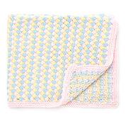 Bernat Tri-Color Baby Blanket