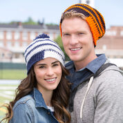 Go to Product: Red Heart Fired Up! Slouchy Beanies, S in color