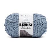 Go to Product: Bernat Blanket Yarn (300g/10.5 oz) in color Gray Blue