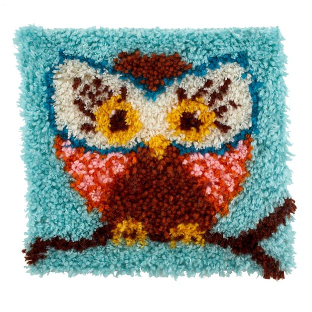 Wonderart Hoot Hoot Kit 12 x 12 in color Hoot Hoot
