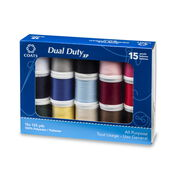 Dual Duty XP All Purpose Sewing Thread Set, 15 Spools