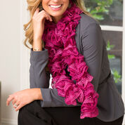 Go to Product: Red Heart Ritzy Ruffle Scarf , 38'' in color