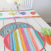 Go to Product: Coats & Clark Easter Egg Place Mats Pretty in Pastels in color