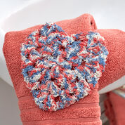 Red Heart Heart-Shaped Granny Scrubby