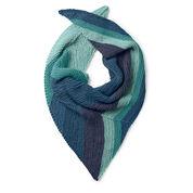 Caron x Pantone Asymmetrical Knit Shawl