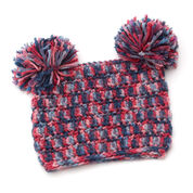 Red Heart Pom-dorable Hat, S