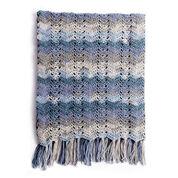 Caron Ocean Waves Crochet Blanket
