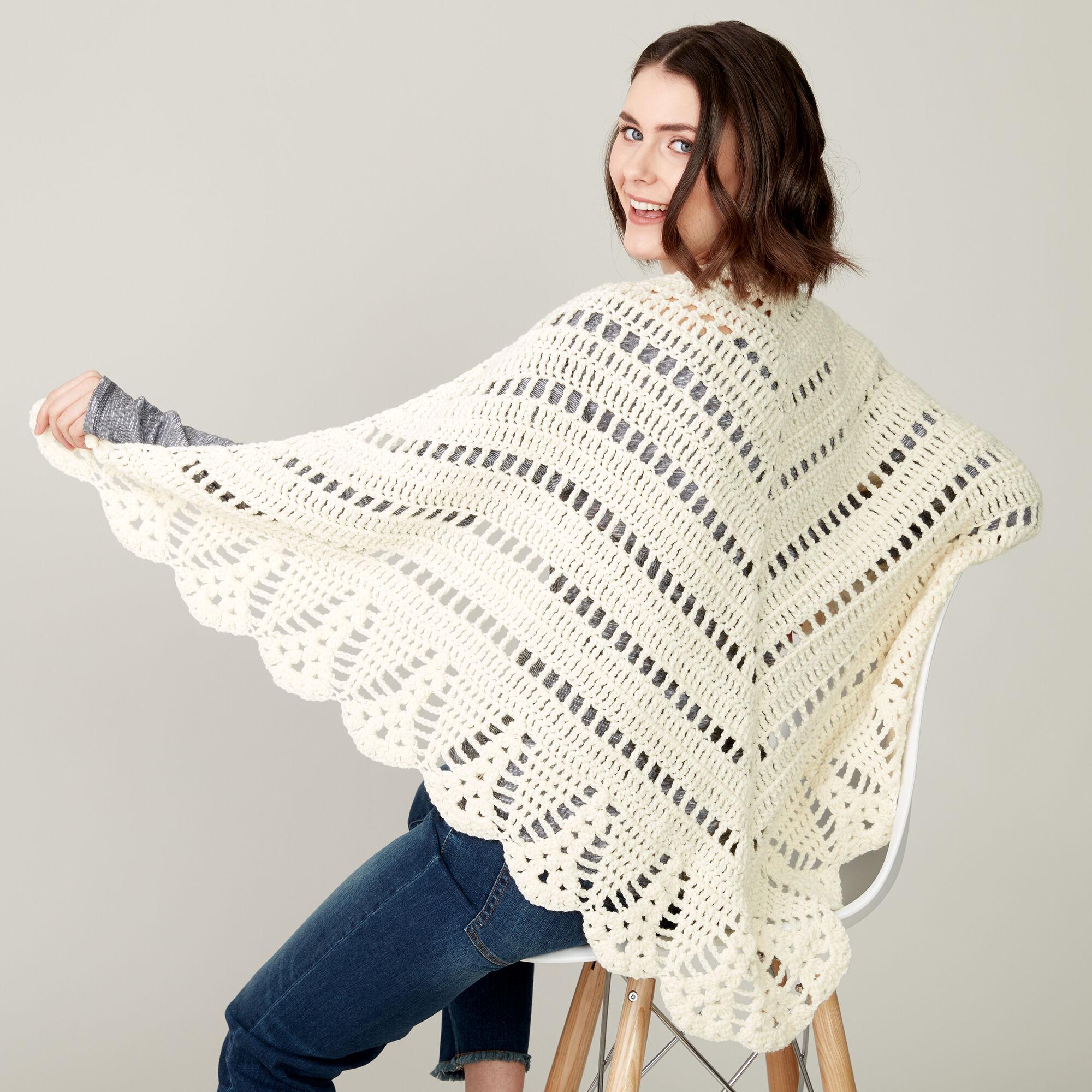 Caron Crochet Prayer Shawl Pattern Yarnspirations