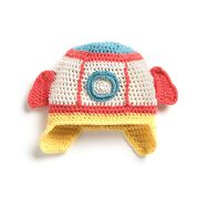 Go to Product: Bernat Crochet Baby Rocketship Hat, 6/12 mos in color