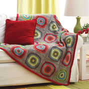 Go to Product: Bernat Circles in Squares Blanket in color
