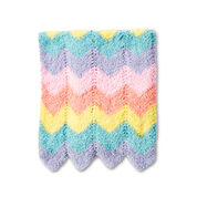 Bernat New Wave Knit Baby Blanket