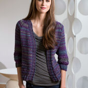 Red Heart Moon Shadows Cardigan, S