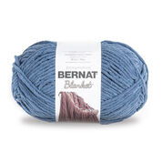 Go to Product: Bernat Blanket Yarn (300g/10.5 oz) in color Country Blue