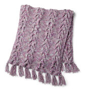 Go to Product: Bernat Cable & Garter Textures Knit Blanket in color