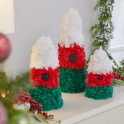 Red Heart Christmas Tree Trio, S