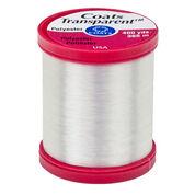 Coats & Clark Transparent Thread 400 yds, Clear (Transparent)