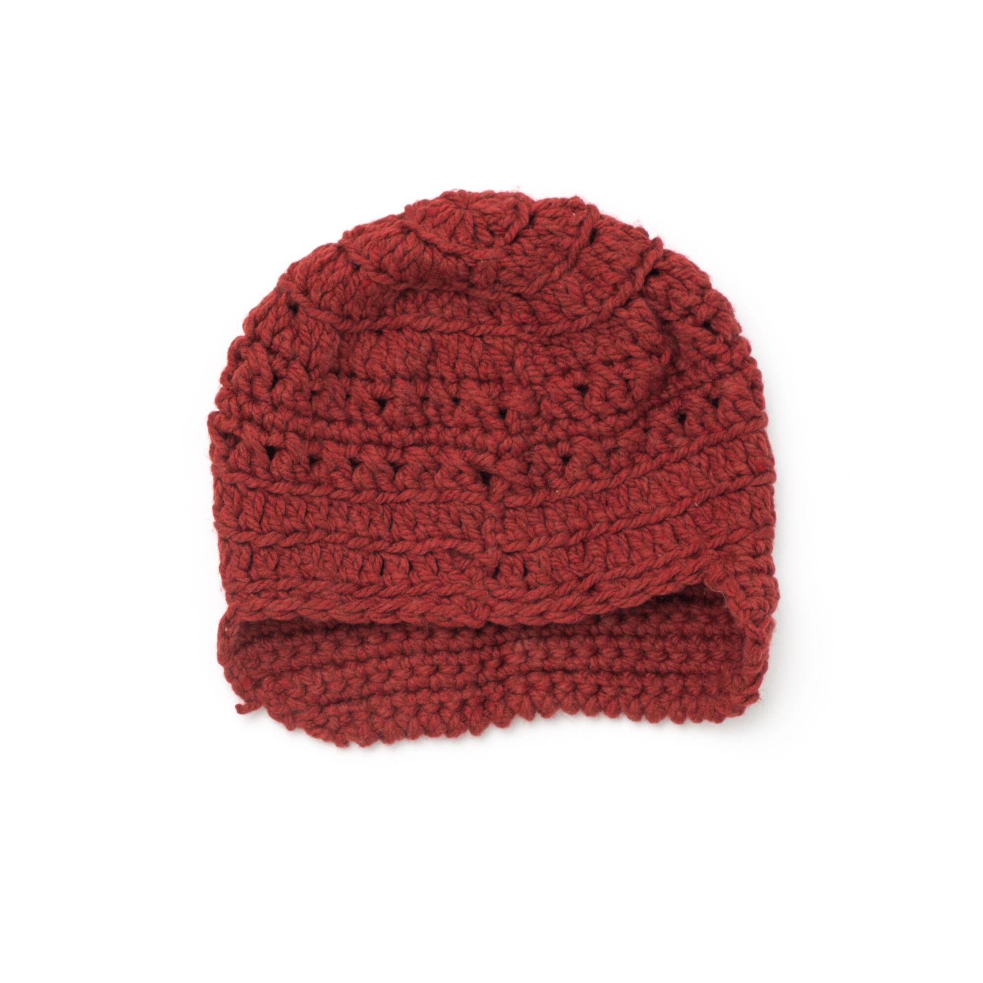 Bernat Slouchy Peaked Hat | Yarnspirations