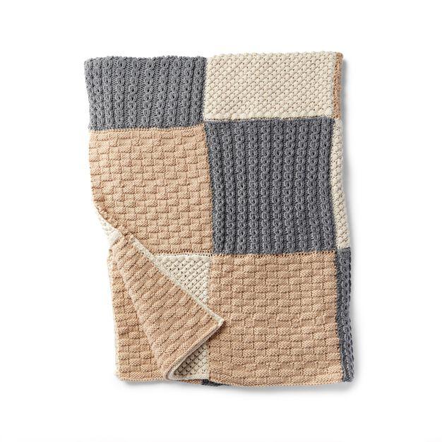 Caron Knit Sampler Afghan Pattern Yarnspirations