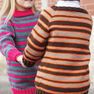 Patons Top Down Super Stripes Sweater, Boy's - 4 yrs in color