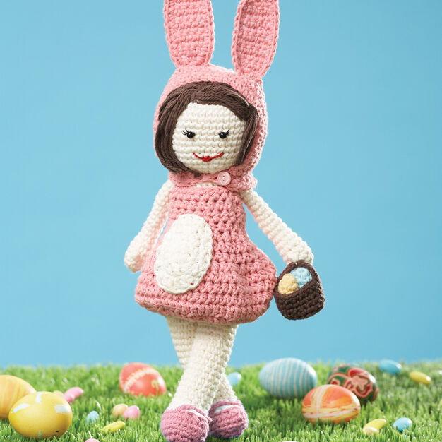 Lily Sugar'n Cream Easter Lily Doll in color