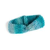 Red Heart Twist Headband, S/M