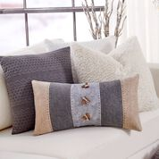 Coats & Clark Strip it Rich Wool Pillow
