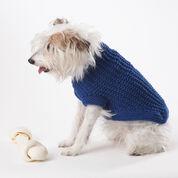 Bernat Knit Dog Coat, S