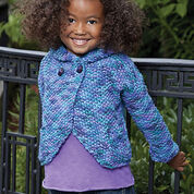 Caron Two-Button Hoodie, 6 yrs