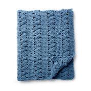 Bernat Cluster Panels Crochet Blanket
