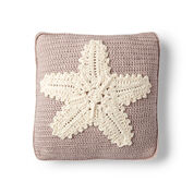 Go to Product: Red Heart Crochet Starfish Pillow in color