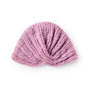 Bernat Knit Baby Turban, 6-12 mos.