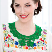 Go to Product: Aunt Lydia's Moderne Crochet Floral Collar in color