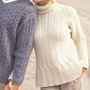 Patons Casual Cables (for her), Classic Wool - S