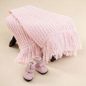 Red Heart Crochet Sweet Baby Blanket