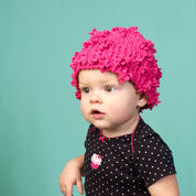Red Heart Adorable Baby Hat, 6 mos
