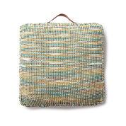 Lily Sugar'n Cream Handy Square Knit Cushion